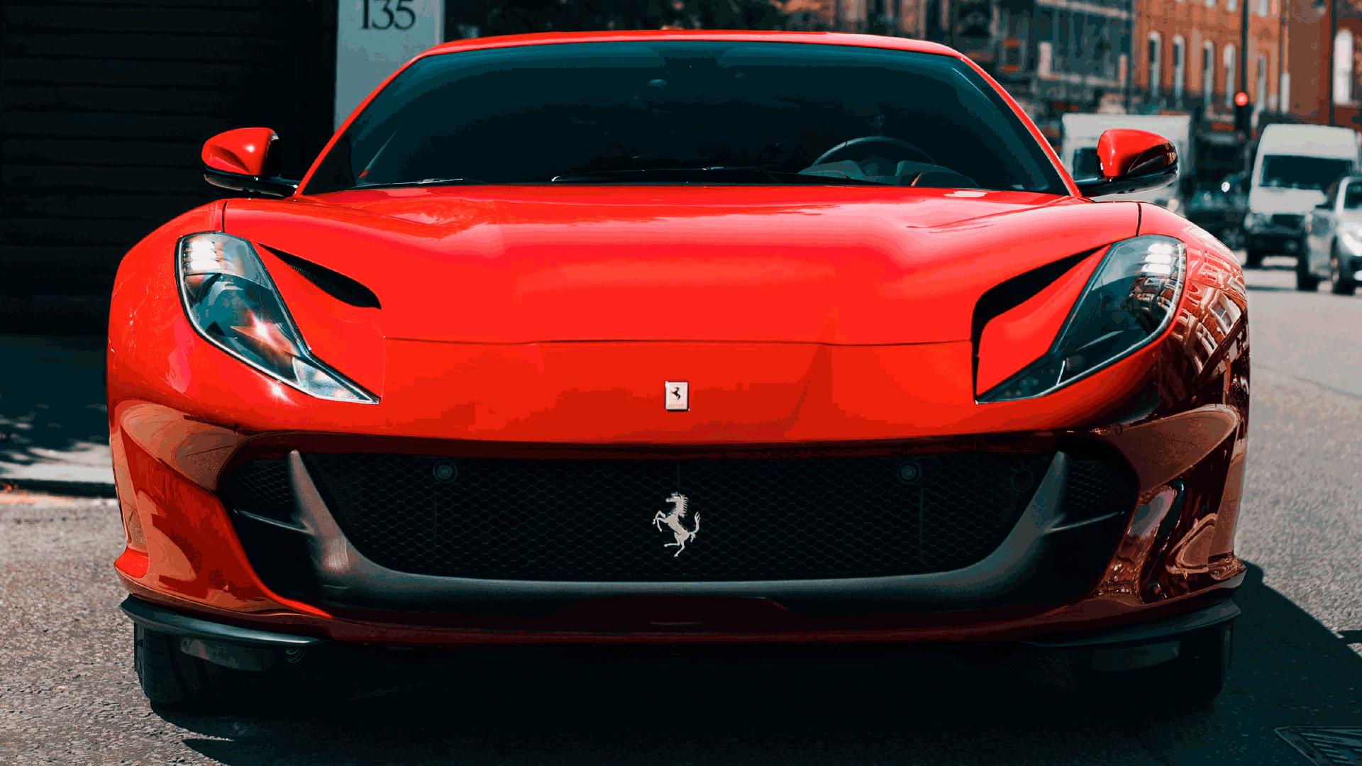 A origem do logotipo da Ferrari