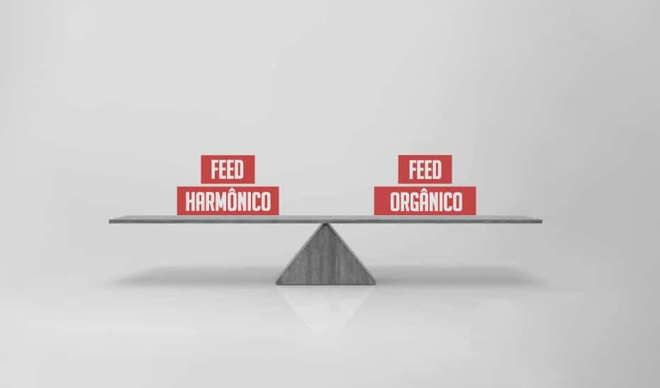Feed no Instagram: Harmônico ou Orgânico?